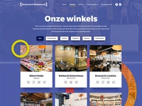 Shops overview page