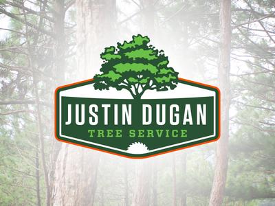 justin dugan tree service logo design by clif dixon dribbble rh dribbble com lewis tree service logo lewis tree service logo