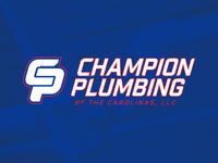 Champion Plumbing Logo Mark