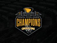 Gastonia Grizzlies - Coastal Plain League Champions Logo