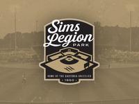 Sims Legion Park Logo