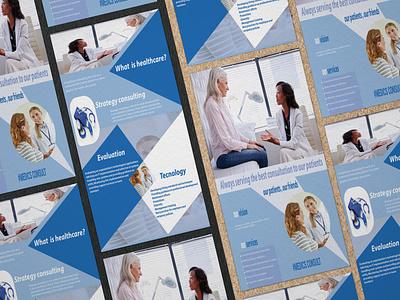 flyer designer, social ads , brochure flyer medical magazine presentation print brochure ui logo flyer brand style guide design business graphic design branding