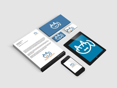 corporate business branding ( Toys arena) ui logo brochure flyer brand style guide design business graphic design branding