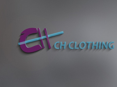 clothing selling  company called CH logo flyer brand style guide design business graphic design branding