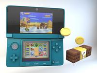 Nintendo 3DS Render