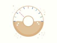 Doughnut Speedometer