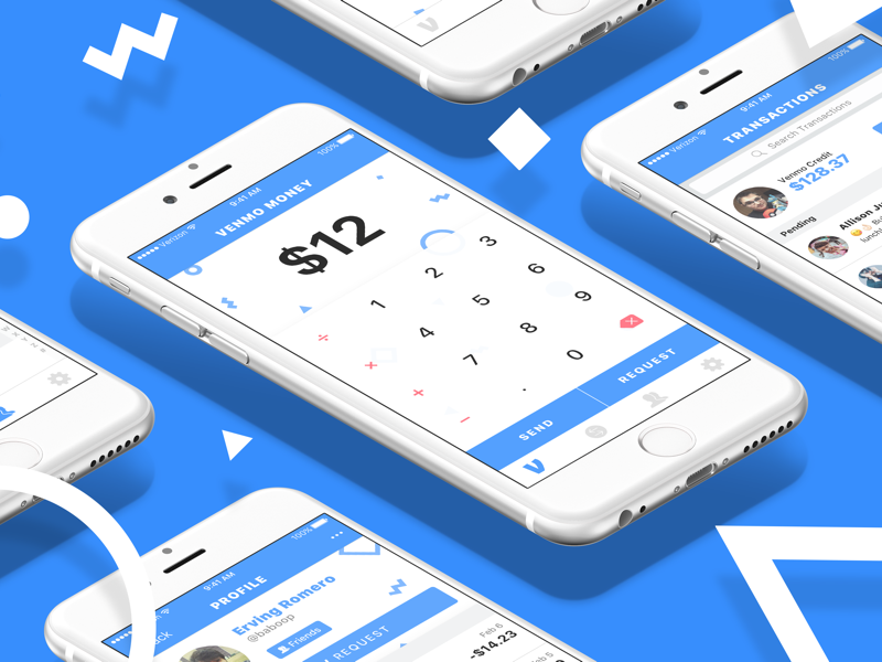 Venmo Redesign Compilation by Danny Swan on Dribbble