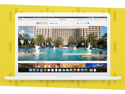 Greatest Hotels Homepage sketch photoshop macbook pro web design mockup luxury tourism travel hotel