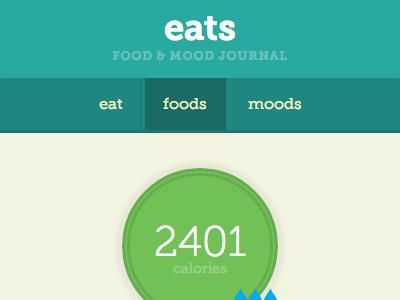 eats app app food css html5 javascript