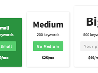 Pricing Table v2