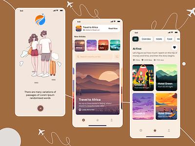 Travel Mobil App travelmobilapps travel app mobilapps uiuxdesign travel mobilapp figma 2021trend ux design ui
