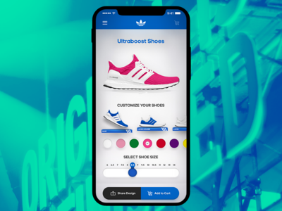 Adidas Custom Sneakers Creator