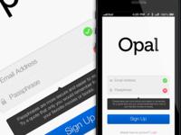 Opal - Registration