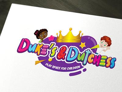 Duke's graphic design branding logo