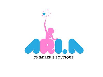 ARI.A icon design vector typography logo graphic design branding