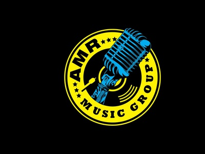 ARM Music Group icon design vector typography logo graphic design branding