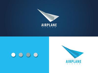 #Paper airplane logo. logo design graphic design