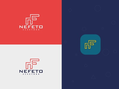 NF Letter Logo. letter logo logo design