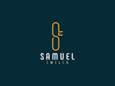 SE Letter Logo logo mark branding letter logo graphic design