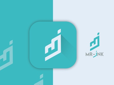 Mi letter logo. app icon logo design branding letter logo graphic design