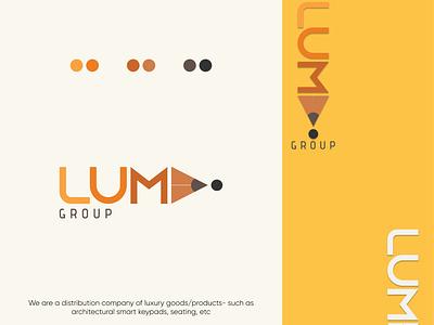 LUMI Group letter logo minimal logo identity branding logo design