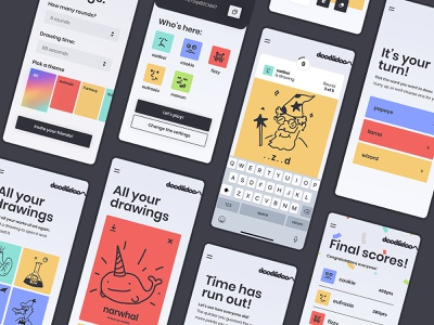 Doodlidoo | Overview scores doodles mobile game draw