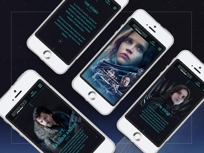 Rogue One: A Star Wars Story | Website Concept