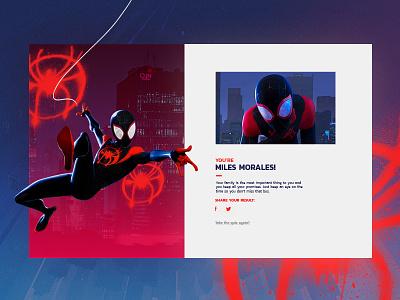 Into the Spider-Verse   Quiz result quiz spider tags street miles morales spiderverse spiderman