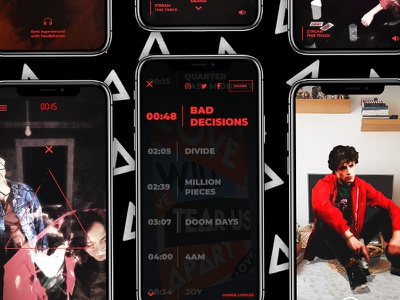 Bastille   Doom Days Experience bastille experience music interactive ar house party red mobile