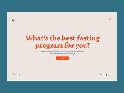 Fasting Quiz sleep fasting diet eating habits health quiz