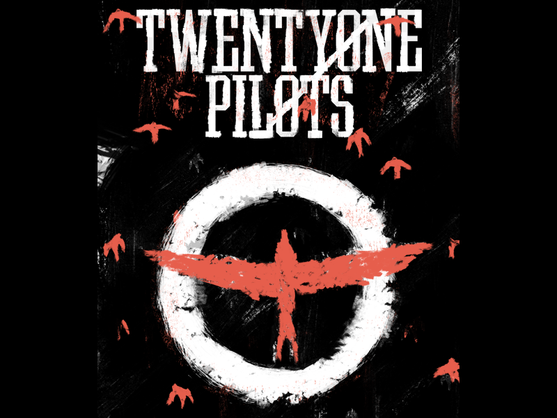 Twenty one pilots  merch music band tour pilots one twenty birds