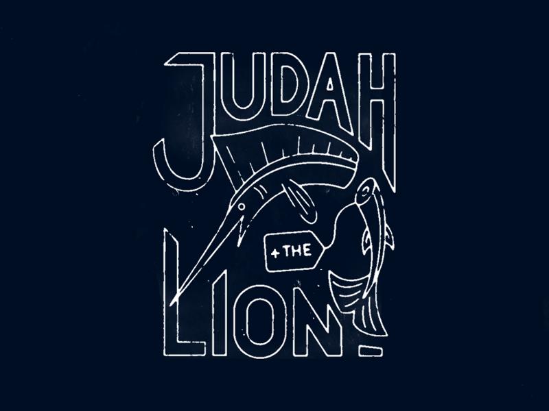 Judah + The Lion band ocean tag fish swordfish lion judah