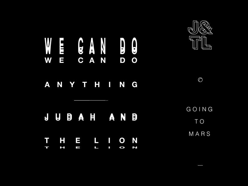 Judah & The Lion long sleeve merch tour mars lion judah