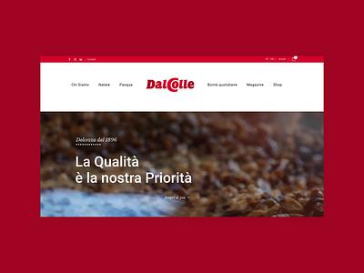 Dal Colle design ux ui web web site graphic design