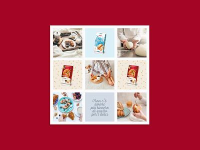 Dal Colle breakfast croissant italian food food instagram instagram feed social media design visual design content design graphic design design
