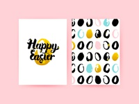 Happy Easter Trendy Flyer