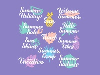 Summer Lettering Quotes