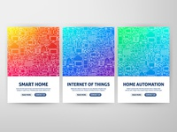 Smart Home Web Banners