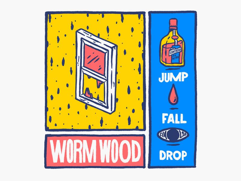 WORMWOOD conspiración lsd cia serie wormwood netflix procreate procreate art procreateapp ipad pro ipadpro illustration