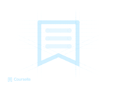 Coursella Guidlines coursella guidlines brand branding logodesign logo