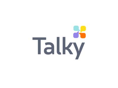 Talky logo | unused concept app messaging talk unused brand branding logodesign logo