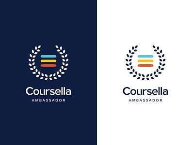 Coursella Ambassador   logo ambassador education e-learning coursella brand branding logodesign logo