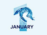 January | 2017 calendar project