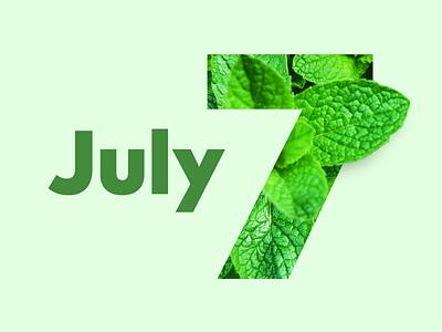 July   2017 calendar project months month july mint calendar 2017