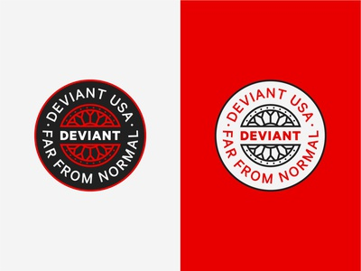 Deviant badge