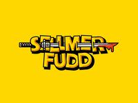 Sellmer Fudd streamer twitch logo twitch dark souls branding illustration brand vector design logo clean