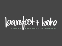barefoot + boho branding