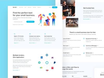 Lendio Homepage
