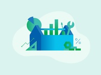 Business Toolbox Illustration