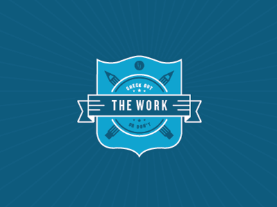 work badge work badge little jacket shield lj branding